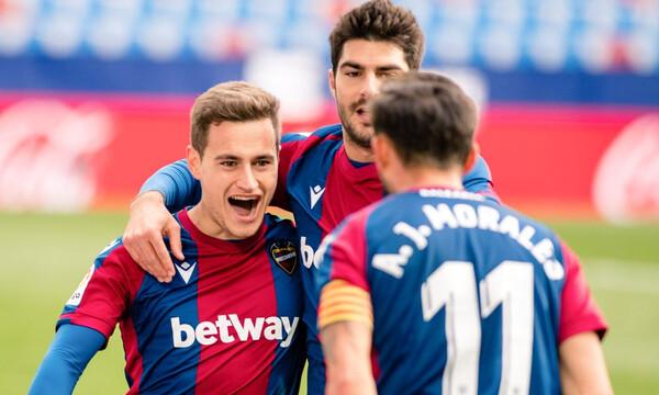 La Liga: Ανατροπή και νίκη για Λεβάντε!