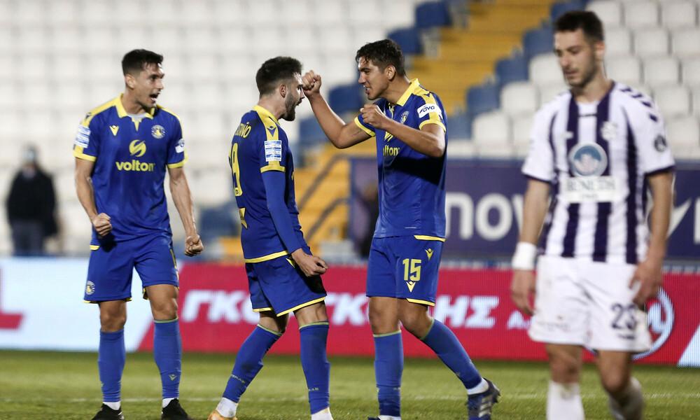 Απόλλων Σμύρνης-Αστέρας Τρίπολης 0-1: Έτσι απέδρασαν με τη νίκη οι Αρκάδες (photos+video)