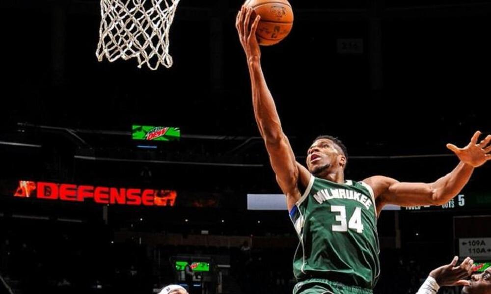 NBA: Νίκη για Μπακς - Θετικός Γιάννης (photos+video)