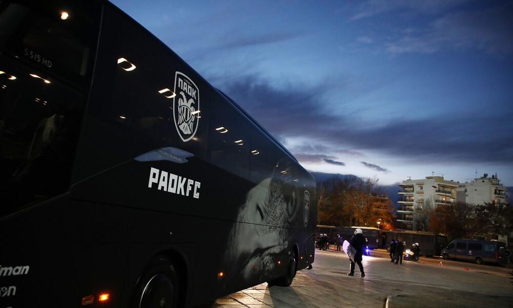 ΠΑΟΚ-Ολυμπιακός: Στην Τούμπα οι δύο αντίπαλοι - Δρακόντεια μέτρα σε άδειο γήπεδο (photos)