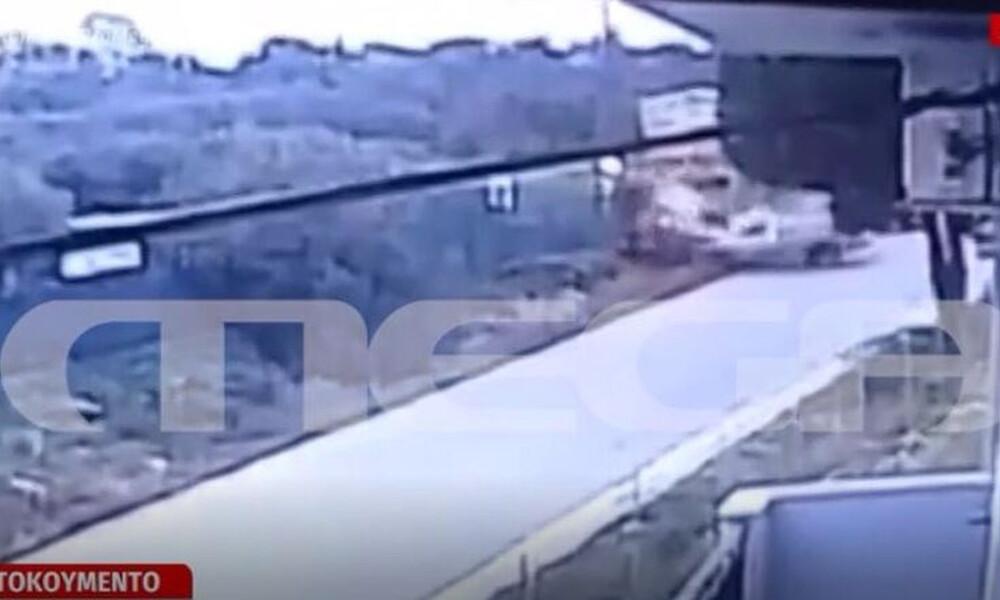 Κρήτη: Βίντεο – σοκ από τη στιγμή του τροχαίου με θύμα την 37χρονη Όλγα και την 3χρονη κόρη της