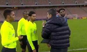 Ξέσπασε ο Λουτσέσκου: «Όρμησε» στον διαιτητή (video+photos)