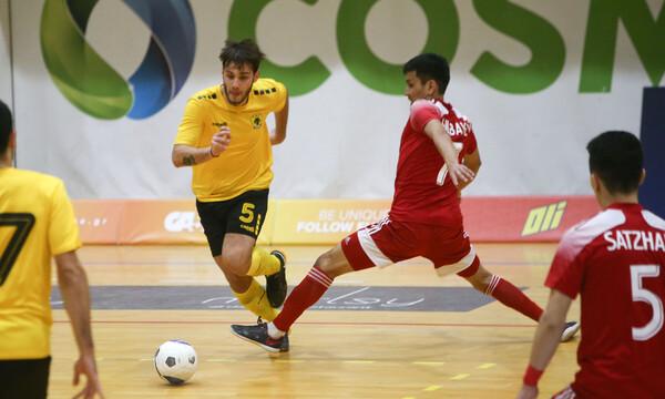 ΑΕΚ: Έχασε από την Ακτόμπε και αποχαιρέτισε το Futsal Champions League (video)