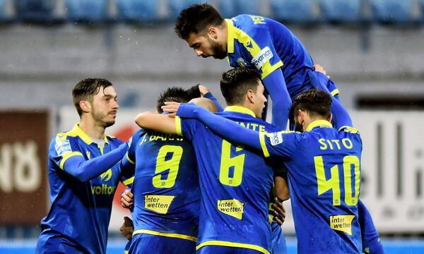 Αστέρας Τρίπολης-Παναιτωλικός 2-0: Νίκη Αρκάδων με σερβιτόρο Μπαράλες (photos)