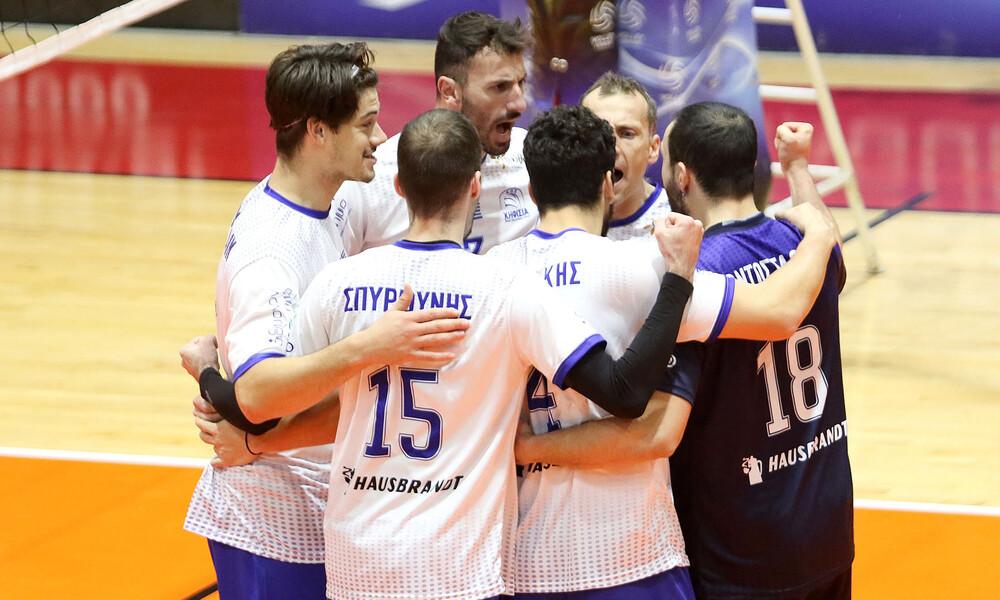 Volleyleague: Άνετη νίκη της Κηφισιάς επί του ΟΦΗ