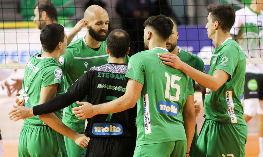 Volleyleague: Νίκη για Παναθηναϊκό, βαθμό για Μίλωνα