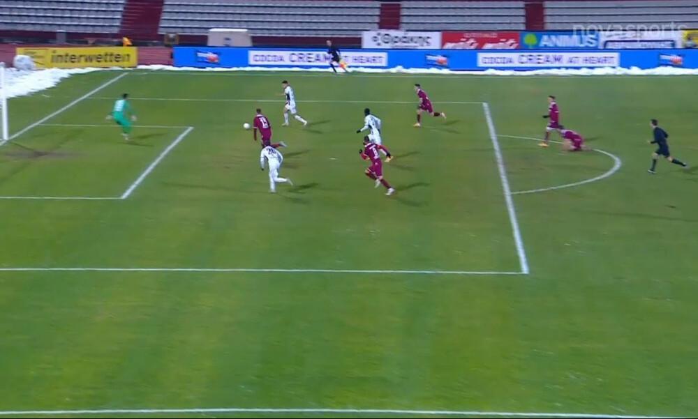 ΑΕΛ-Απόλλων Σμύρνης: Τρομερή ασίστ του Ντάουντα κι εκτέλεση από τον Τσιλούλη για το 0-1! (video)
