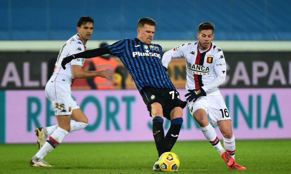 Serie A: «Τσίμπησε» βαθμό στο Μπέργκαμο η Τζένοα! (Video)