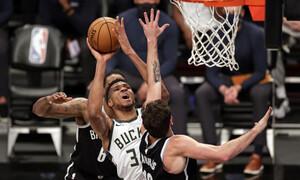 NBA: Σπουδαία εμφάνιση Αντετοκούνμπο - Λύγισαν οι Μπακς (video+photos)