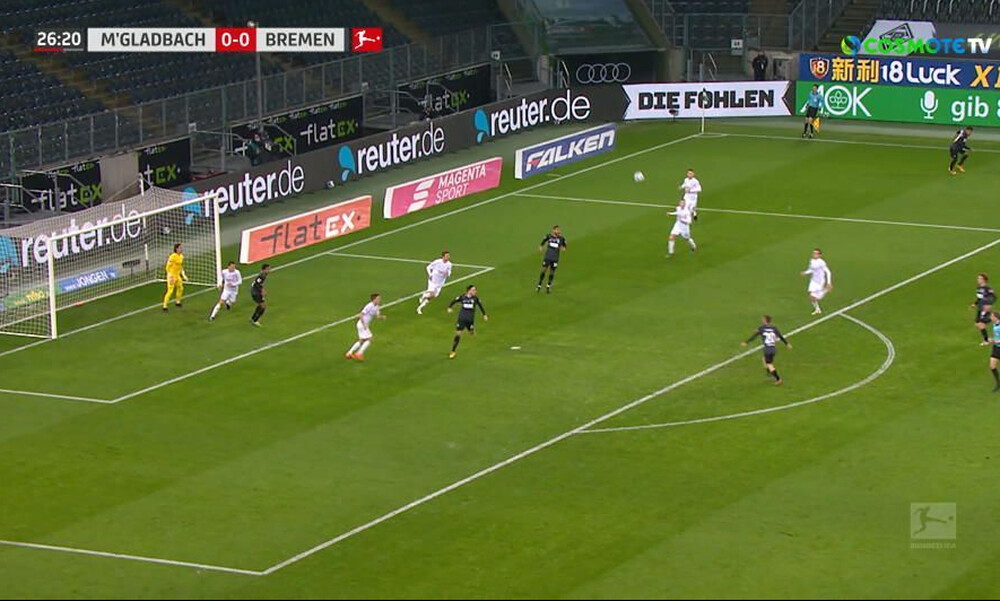 Bundesliga: Ένα και να «καίει» για την Γκλάντμπαχ (video)