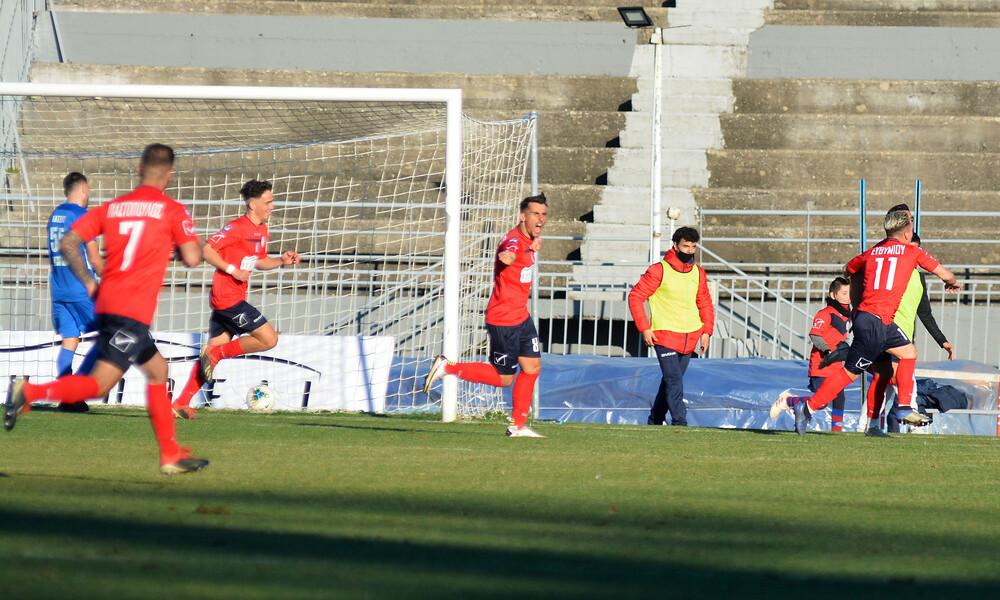 Τρίκαλα-Απόλλων Λάρισας 1-0: Τρίποντο με Σταματή