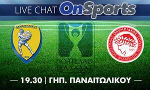 Live Chat Παναιτωλικός - Ολυμπιακός 0-3