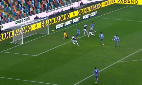Serie A: «Μοιρασιά» στο «Φρίουλι» (video)