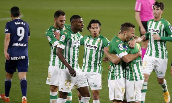 La Liga: Λύγισε τη Θέλτα κι ανεβαίνει η Μπέτις (video+photos)