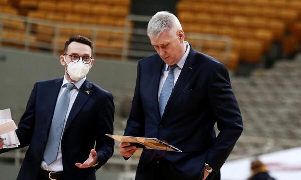 Μάλτσεφ: «Καλός αγώνας, συγχαρητήρια στον Παναθηναϊκό»