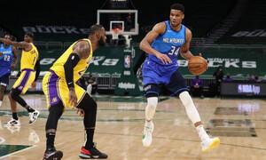 NBA: Τα καλύτερα του Γιάννη Αντετοκούνμπο απέναντι στους Λέικερς (video+photos)