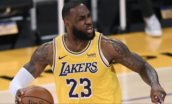 NBA: «Βασιλιάς» Λεμπρόν στο Top 5 (video)