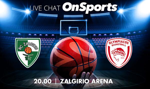 Live Chat Ζαλγκίρις Κάουνας-Ολυμπιακός