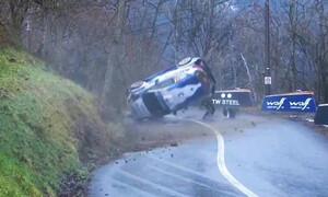 Τρομακτικό ατύχημα στο ράλι του Μόντε Κάρλο (photos+video)