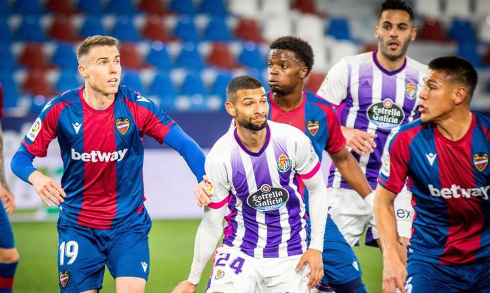 La Liga: Ματσάρα και μοιρασιά στο Λεβάντε-Βαγιαδολίδ! (Video+Photos)
