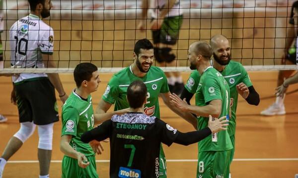Volley League: Δοκιμασία για Παναθηναϊκό - Ντέρμπι στην Κηφισιά