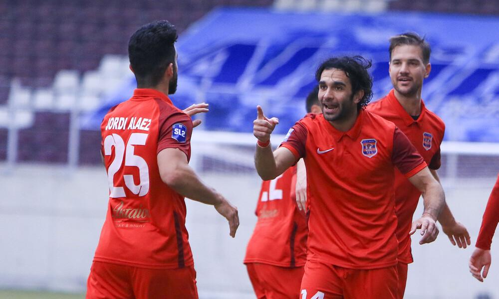 Απόλλων Λάρισας-Διαγόρας 0-1: Άλωσαν το AEL FC Arena οι Ροδίτες (photos)