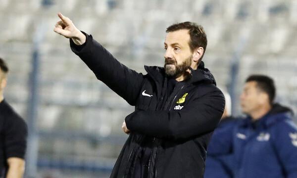 Μάντζιος: «Δίκαιη νίκη, μπορούσαμε κι άλλο γκολ»