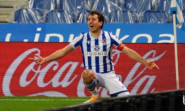La Liga: Εχασε βαθμούς η Σοσιεδάδ