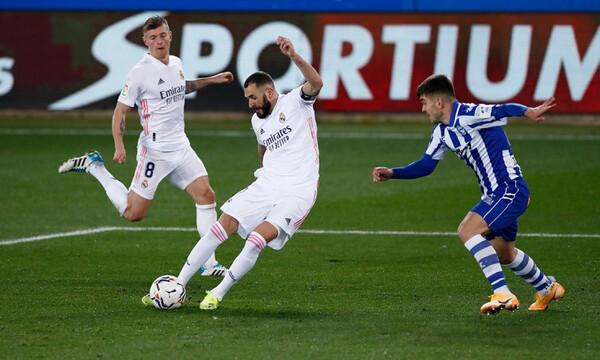 La Liga: Ξέσπασε στην Αλαβές η Ρεάλ Μαδρίτης (Videos+Photos)!