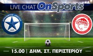 Live Chat Ατρόμητος - Ολυμπιακός 0-0