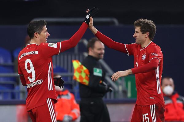 Bundesliga: Τεσσάρα στη Σάλκε η Μπάγερν και στο +7! (video+photos)