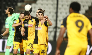ΠΑΟΚ-ΑΕΚ: Γκολ χωρίς πανηγυρισμό ο Σάκχοφ, απίθανη ενέργεια του Λιβάι Γκαρσία (video)