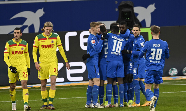 Bundesliga: Περίπατο η Χόφενχαϊμ με την Κολωνία (video+photos)