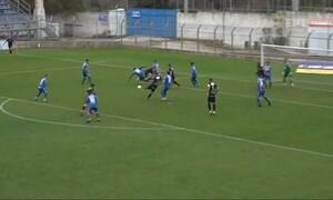 Χανιά-Εργοτέλης: Ωραίο γκολ με γυριστό Μανουσάκη (video)