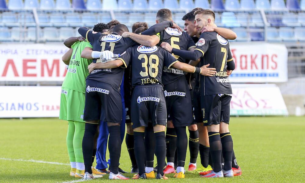 Χανιά-Εργοτέλης 0-1: Πρώτη νίκη με Μανουσάκη