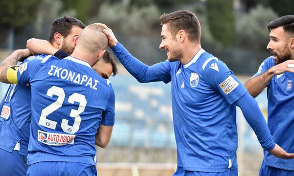Λαμία-Απόλλων Σμύρνης 1-0: Ξεκόλλησε από τον πάτο και ελπίζει