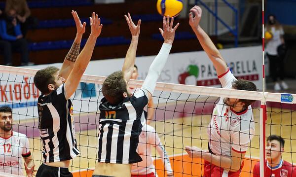 Volley League: Ιστορική νίκη για Φίλιππο Βέροιας