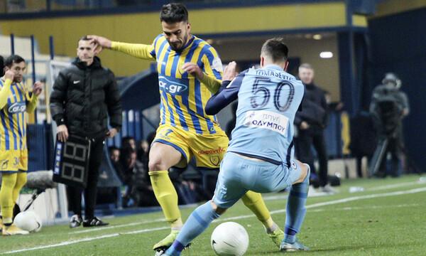 Super League: Η βαθμολογία μετά την ισοπαλία στο Αγρίνιο (photos)