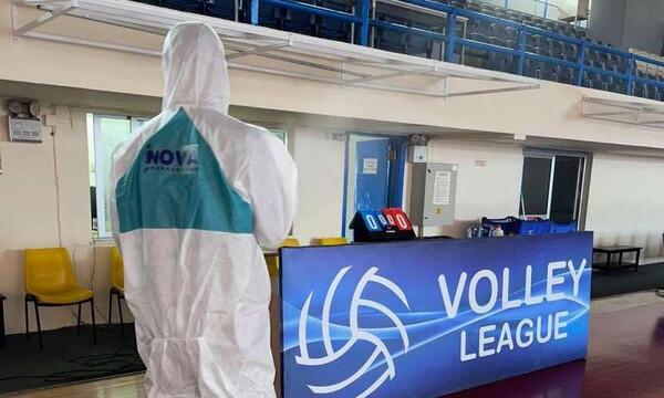 Volley League: Και τέταρτος παίκτης της Κηφισιάς θετικός στον κορονοϊό