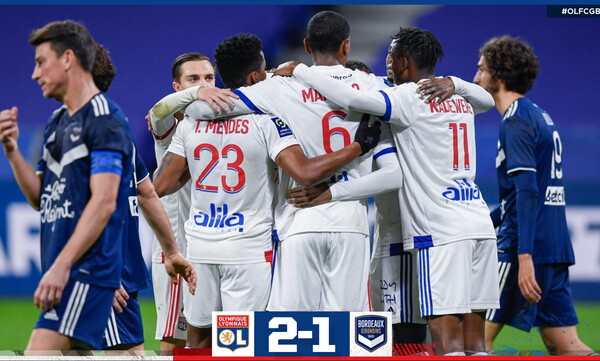 Ligue 1: Στην κορυφή η Λιόν με… buzzer beater