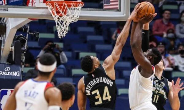 NBA: Έπαιζε μόνος του ο Γιάννης - Ήττα για Μπακς (photos+video)
