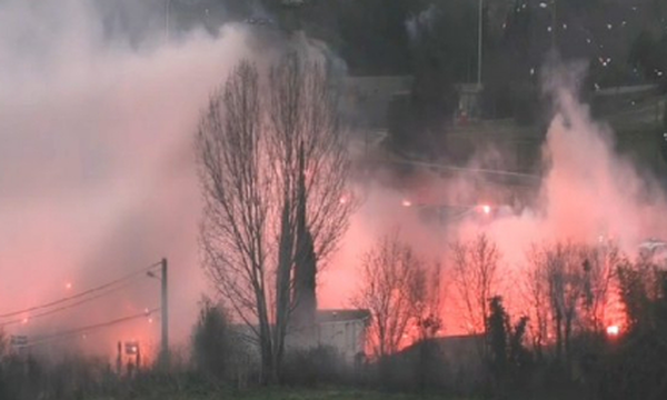 Ηφαίστειο η Μασσαλία – Έκρηξη από οπαδούς της Μαρσέιγ και δεκάδες συλλήψεις! (videos+photos)