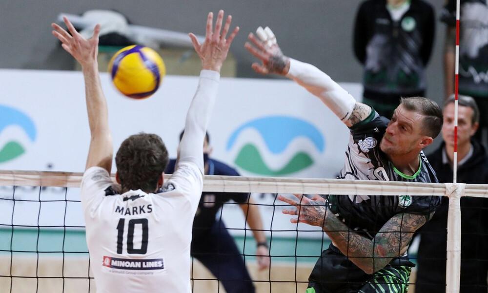Volley League: Έσπασε το… ρόδι ο Μίλων (photos)