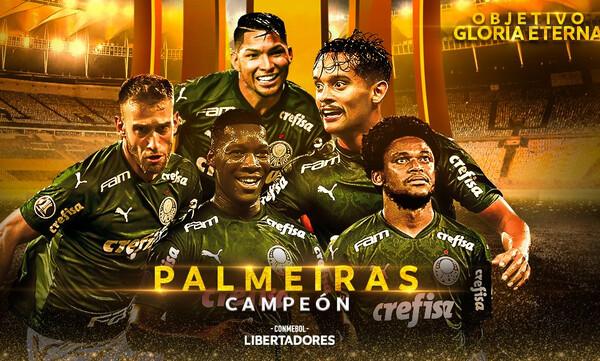 Copa Libertadores: Το σήκωσε η Παλμέιρας κι ο Αμπέλ Φερέιρα σε τελικό θρίλερ με τη Σάντος! (photos)