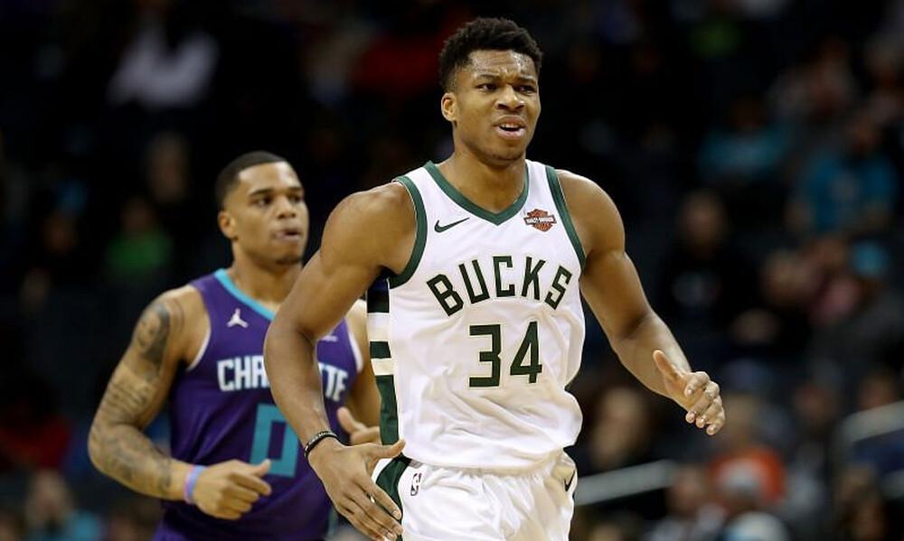 NBA: Πάλευε μόνος ο Αντετοκούνμπο - Νέα ήττα για Μπακς (photos+video)