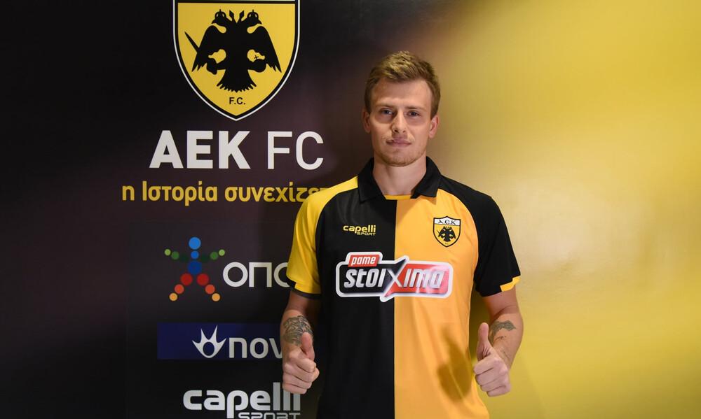 Νταντσένκο: «Έγινε αυτό που ήθελα - Ευτυχισμένος που ήρθα στην ΑΕΚ» (photos+video)