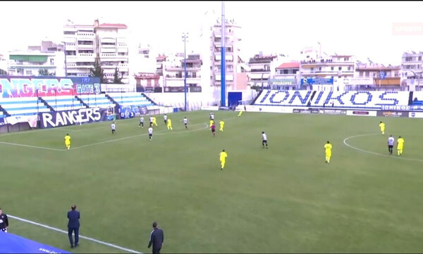 Ιωνικός-ΟΦ Ιεράπετρας: Κίνηση φορ και γκολ για Ομάρ (video)