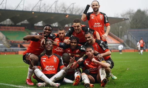 Ligue 1: Η Λοριάν ταπείνωσε την Παρί Σ.Ζ. και την έστειλε τρίτη, κορυφή η Λιλ! (photos)