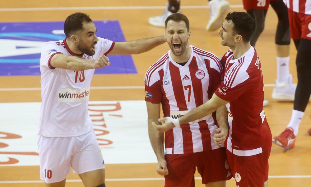 Volley League: Στην κορυφή ο Ολυμπιακός, σάρωσε τον ΠΑΟΚ στην Πυλαία - Η βαθμολογία (video)