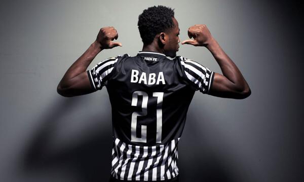 ΠΑΟΚ: «Είμαι ο Μπάμπα και ανυπομονώ να αγωνιστώ»
